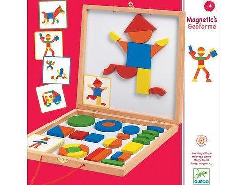 Djeco - Magnetic's Geoforme