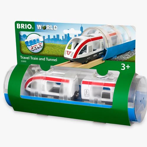 Brio - Train de voyageurs et tunnel