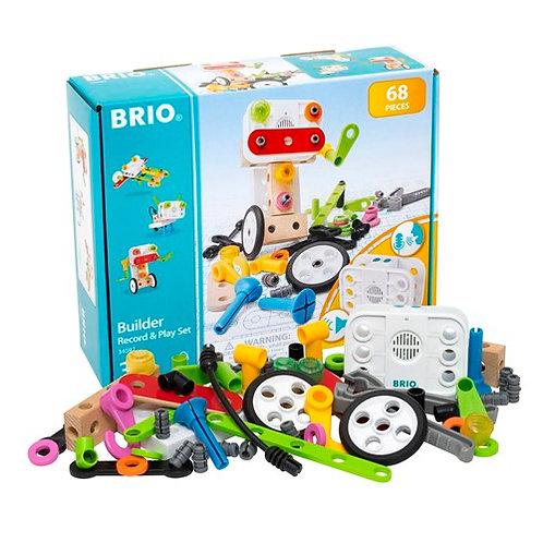 Brio - Builder record n play Set 68pcs