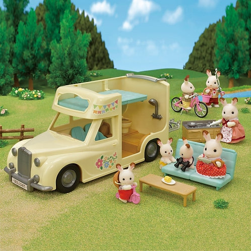 Calico Critters - Family camper van