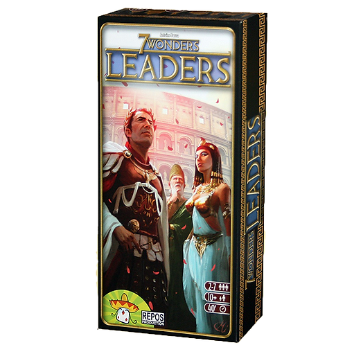 7 Wonders extension Leaders VF - Ancienne édition