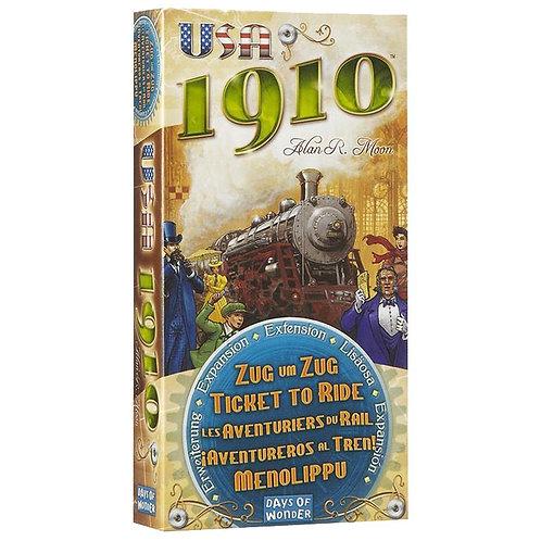 Les Aventuriers du Rail - Extension USA 1910 (ML)
