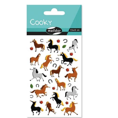 Gommettes Cooky - Autocolants - Equitation