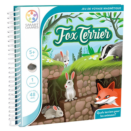 SMART GAMES - Fox Terrier ( Jeux de voyage)