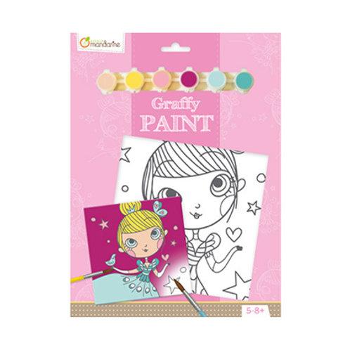 Avenue Mandarine - Graffy Paint - Princesse
