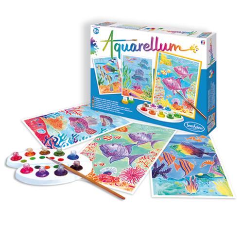 Aquarellum - Canvas Recif de corail