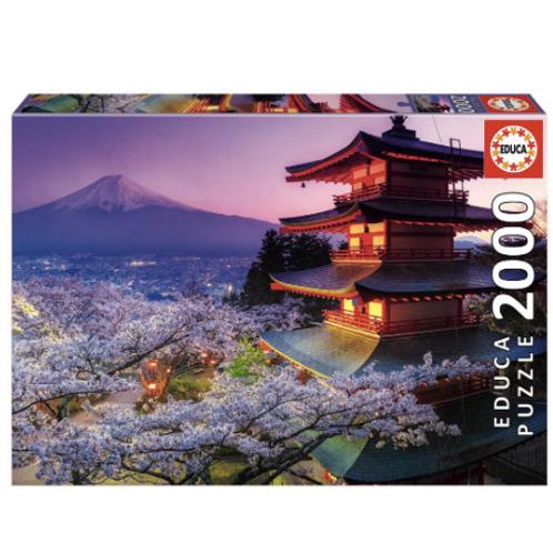 2000pcs - Mont Fuji, Japon - Educa