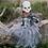 Thumbnail: Robe de Sorcière squelette avec masque 5-6 ans
