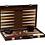 Thumbnail: CHH Games - Jeu de backgammon de 18'' Mallette en cuir brun
