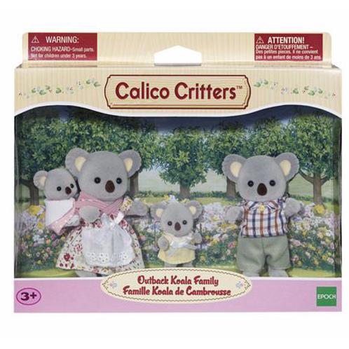 Calico Critters - Famille Koala de Cambrousse