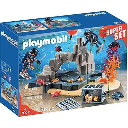 PLAYMOBIL - SuperSet - Unité de plongée Sous-Marine