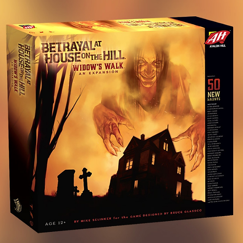 Betrayal at House on the Hill - Widow's Walk Expansion (VA)