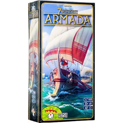 7 Wonders - Extension Armada (VF) - Ancienne Édition