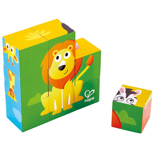 HAPE - Jungle animal block puzzle
