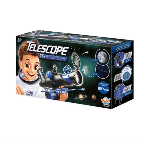 Buki Espace - Télescope avec 15 activités