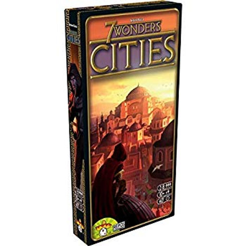 7 Wonders - Extension Cities VF - Ancienne édition