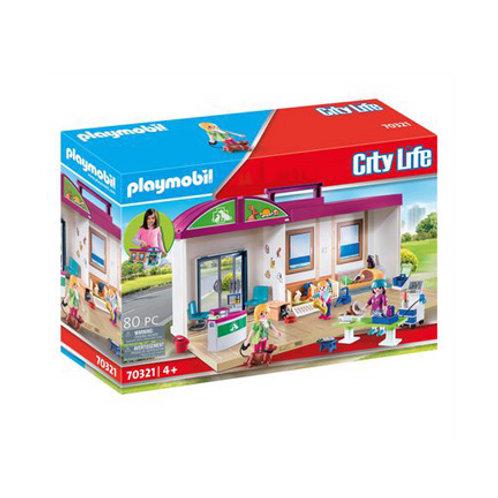 PLAYMOBIL - City Life - Clinique Vétérinaire Transportable