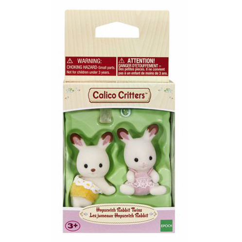 Calico Critters - Les jumeaux Hopsscotch Rabbit