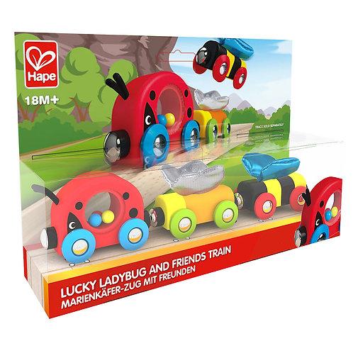 HAPE - Train Lucky Ladybug et ses amis