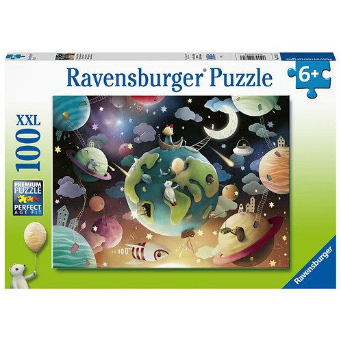 100 Pcs - Ravensburger - Planètes Fantastiques