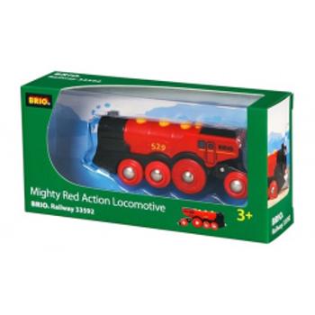 BRIO - Locomotive rouge puissante à piles