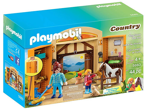 PLAYMOBIL - Country - Coffret chevaux