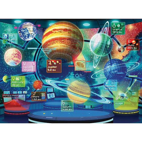 300 Pcs - Ravensburger - Planet holograms