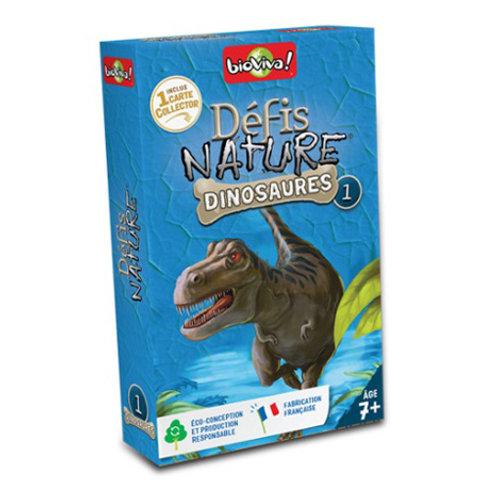 Défis Nature - Dinosaures 1 (Bleu)