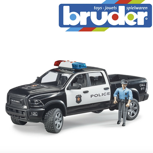 BRUDER - Bruder Police Ram 2000 avec policier