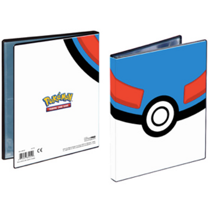 Pokemon - Ultra Pro Portfolio 4 pochettes - Great Ball
