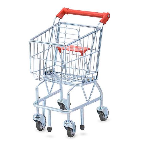 Chariot / Carrosse d'épicerie en métal