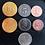 Thumbnail: Board Game Upgrade Metal Industrial Coins (50 pieces) / Pièces de monnaies
