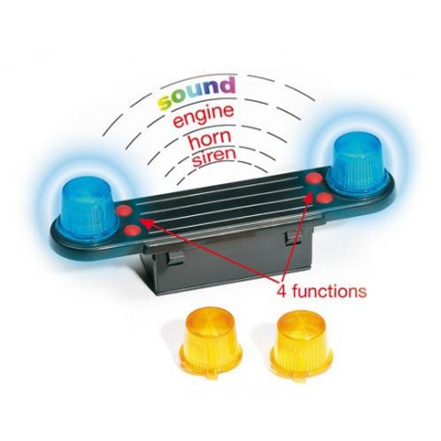 Bruder - Accessoires: Lumière et Module de sons (camions) incl. batterie