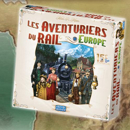 PréCommande - Les aventuriers du rail EUROPE - 15ème anniversaire VF