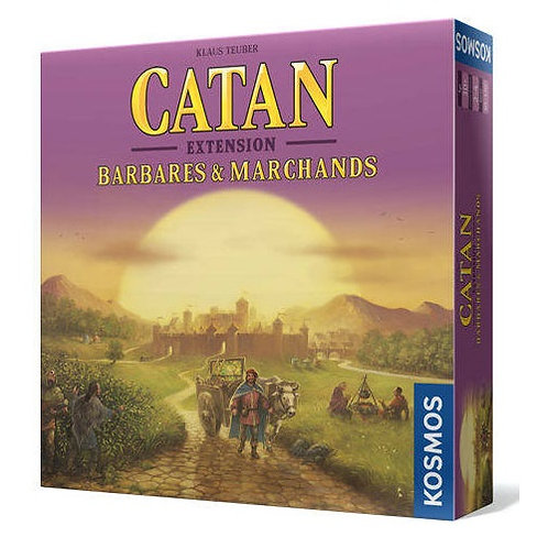 Catan: Extension Barbares & Marchands VF