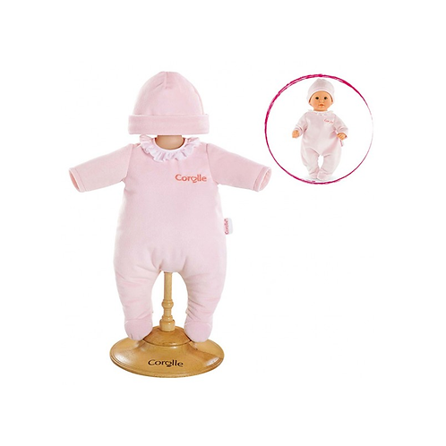 Corolle 12''- Pyjama rose pour poupon 12''- 30 cm