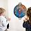 Thumbnail: Scratch - Jeu de dards ''étoiles/Diskers''  magnétiques Espace