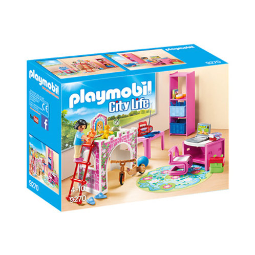 PLAYMOBIL - City Life - Chambre d'enfant