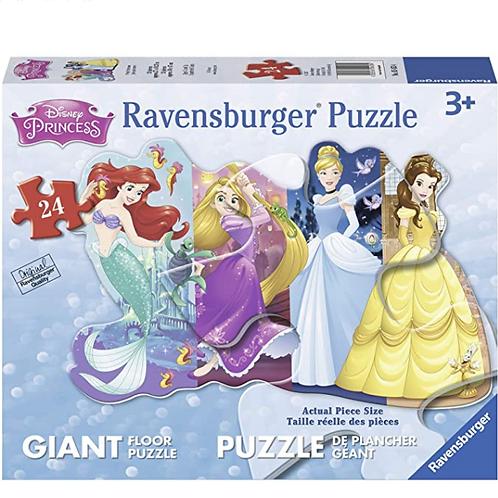 24 pcs Princesses Puzzle de plancher Géant XXL