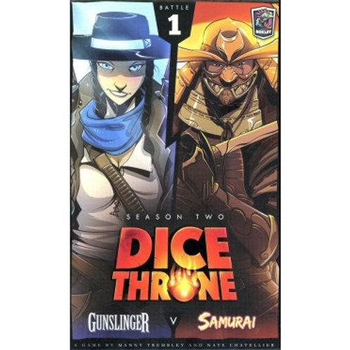 Dice Throne - Season Two : Battle 1 - Gunslinger vs Samurai VA