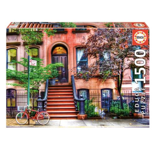 1500pcs - Greenwich Village, New York - Educa