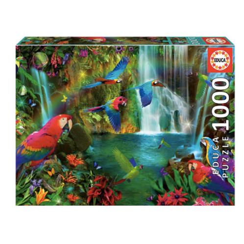 1000pcs - Perroquets tropicaux - Educa