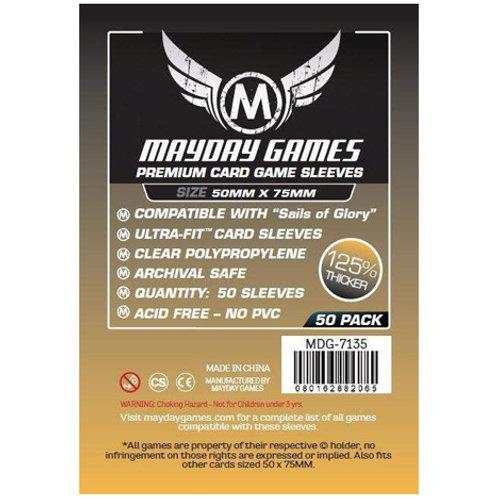 Sleeves - 50 x 75 - Mayday Games - Premium (50)