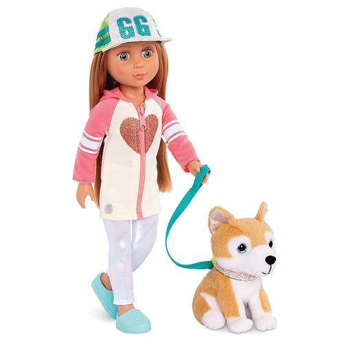 Glitter Girls - Poupée Tavie avec chiot 36 cm