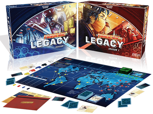 Pandemic Legacy VA saison 1