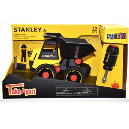 Stanley Jr. - Take a Part: Camion Benne 22 pièces