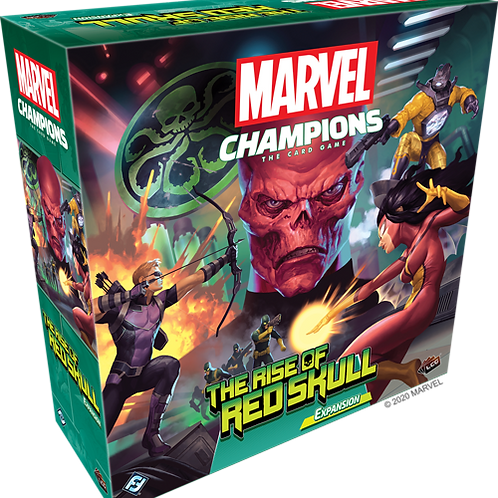 Marvel Champions: LCG: The rise of Red skull expansion VA