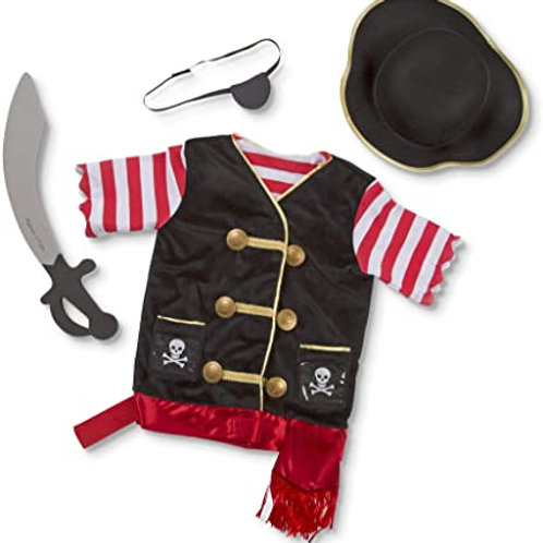 Costume de Pirate 3-4 ans+