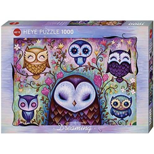 1000 pcs - HEYE - Great Big Owl (Ketner)
