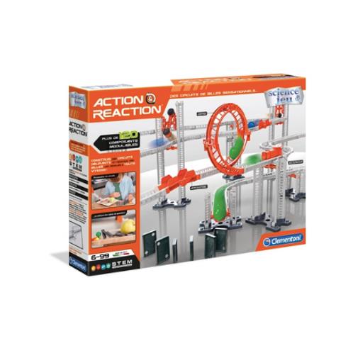 Clementoni - Action & Reaction - Circuits de billes VF